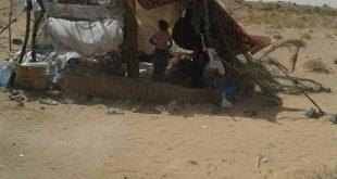 اللاجئون السوريون العالقون على الحدود