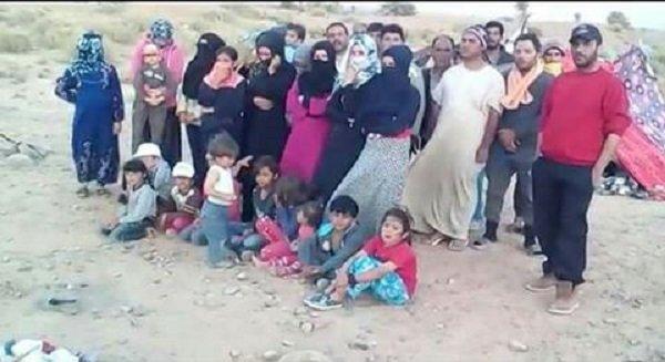 تعنت الجزائر يهدد حياة 25 لاجئ سوري بينهم 12 طفلا