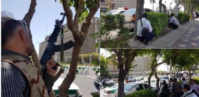 طهران: إطلاق النار بالبرلمان الإيراني ومتحف ضريح الخميني