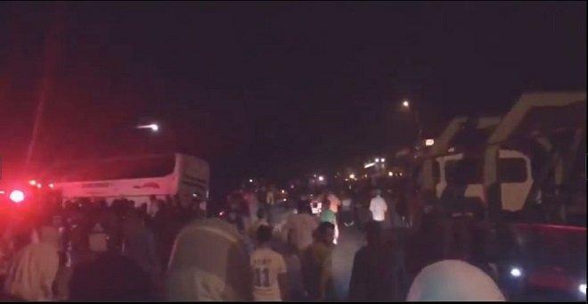 مصرع 3 ركاب وإصابات بليغة لآخرين في انقلاب حافلة قرب المهدية