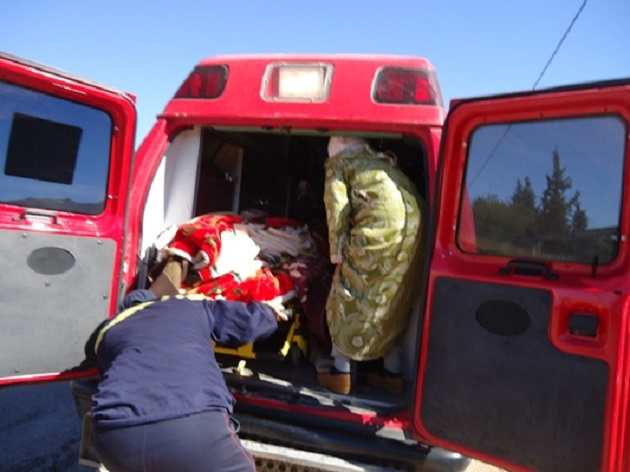 """Résultat de recherche d'images pour """"الولادة داخل سيارة الوقاية المدنية"""""""