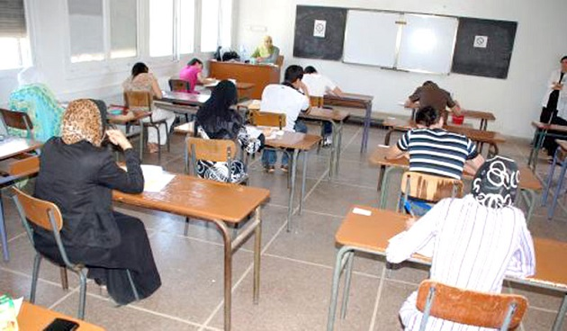 أزيد من 325 ألف تلميذ يجتازون الامتحان الوطني للبكالوريا