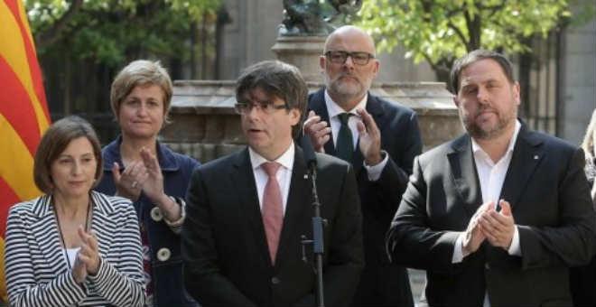 دعاة انفصال كاتالونيا يحددون موعد وسؤال الاستفتاء والحكومة ستمنعه بكل الوسائل