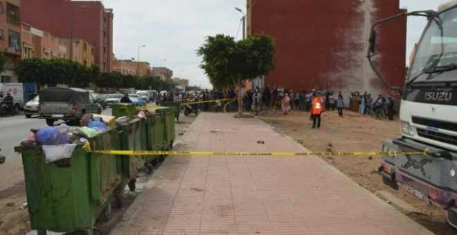 مراكش. استنفار أمني بعد العثور على أطراف بشرية في حاويات للأزبال