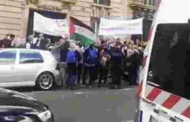 مشاركة البوليساريو والجزائر في وقفة تضامنية مع