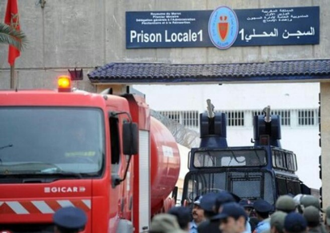 دفعة جديدة من المتابعين في أحداث الحسيمة تودع بسجن عكاشة