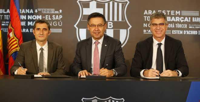 رسميا.. فالفيردي يوقع  عقده مع برشلونة