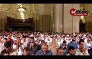 أجواء رائعة في ليلة الختم بمسجد الحسن الثاني مع الشيخ عمر القزابري