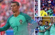 رونالدو يقود البرتغال للفوز على روسيا