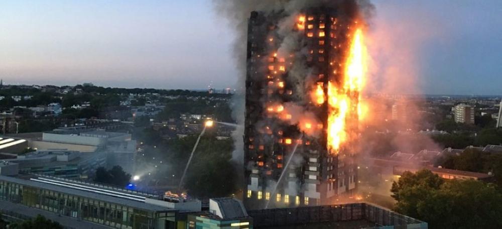 مغاربة ضمن ضحايا حريق لندن.. والسلطات تحدد هوياتهم
