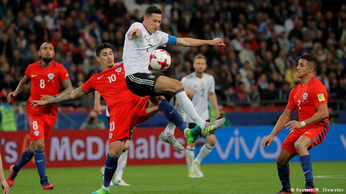 ألمانيا والشيلي تتأهلان لنصف النهائي