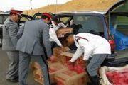 حجز أزيد من 42 ألف علبة من السجائر المهربة ضواحي مدينة تارودانت