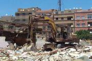 بالصور.. السلطات تهدم ''براريك'' أحد أقدم الأحياء الصفيحية بالبيضاء