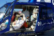 ''مروحية الصحة'' تمكن شابا في حالة حرجة من تلقي العلاج بمراكش