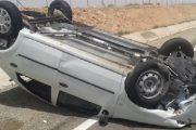 اقليم الجديدة.. فرار سائق سيارة انقلبت بجماعة اولاد غانم ومصرع امرأة