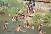 غرق طفلين في بحيرة سد الوحدة
