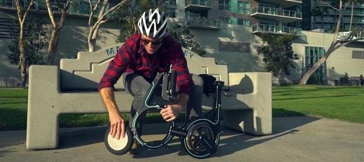 بالصور.. شاهد أغرب دراجة كهربائية في العالم !!