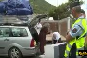 الشرطة الفرنسية تتربص بسيارات الجالية المغربية بسبب الحمولات الزائدة