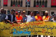 عمال النظافة بالبيضاء يحتجون ضد صمت المسؤولين