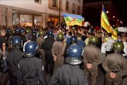 الأمن يفرق وقفة احتجاجية تضامنية مع الحراك بالرباط