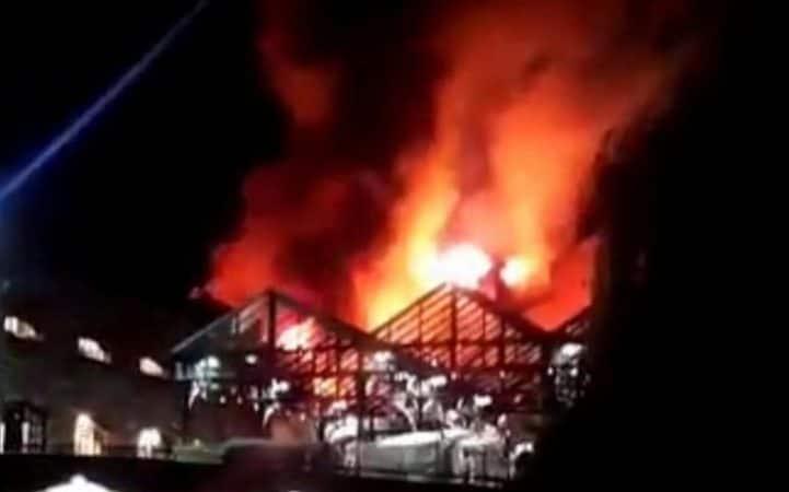 لندن تستفيق مرة أخرى على وقع حريق ضخم