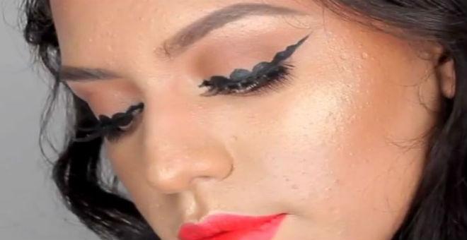 موضة الـ bubble eyeliner تجتاح مواقع التواصل.. هل تجرأين على تجربتها
