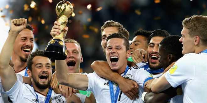 منتخب ألمانيا يتوج بكأس القارات لأول مرة