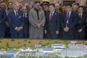 وفد عالي المستوى يحل بطنجة لتفقد المدينة الصناعية الصينية