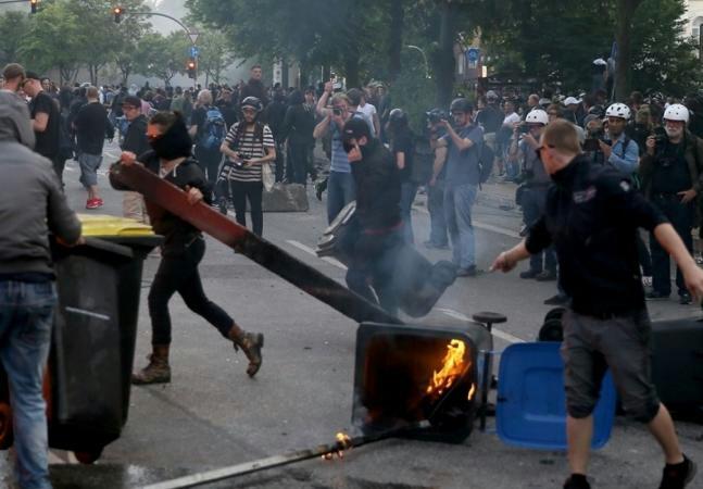 قمة العشرين بألمانيا.. مئات الإصابات والاعتقالات
