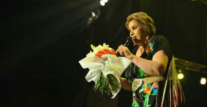 نجاة عتابو غاضبة من منظمي مهرجان