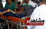 مؤثر.. دموع وصراخ لحظة وصول مصابي حادثة برشيد لمستشفى البيضاء