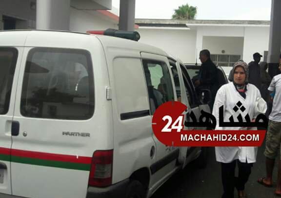 بالصور.. استنفار بمستشفى ابن رشد بسبب حادثة برشيد