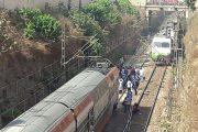 بالصور.. عطب جديد يشل حركة القطارات بالبيضاء
