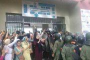 السلطات الأمنية تقتحم كلية طنجة مجددا.. وهذا ما يطالب به الطلبة