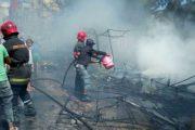 حريق مهول يلتهم سوقا شعبيا في مدينة طنجة