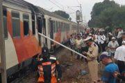 عاجل. النيران تندلع داخل قطار كان متوجها إلى مراكش (صور)!