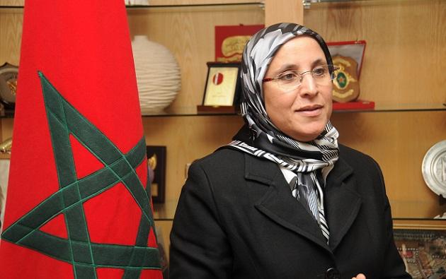 المحكمة الدستورية تنتصر للوزيرة الحقاوي على فريق