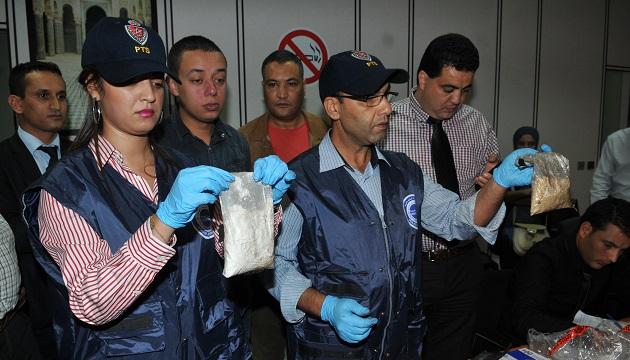 اعتقال تركي يهرب الكوكايين من البرازيل إلى بيروت عبر الدار البيضاء