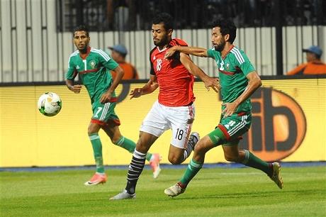 رجاوي يضيع فوزا للمنتخب المحلي بمصر