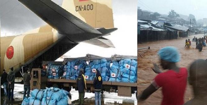 سييراليون تشكر المغرب على دعمها الإنساني في محنتها ضد الفيضانات
