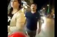بالفيديو.. حادث دهس مروع لرجل يقف بجوار زوجته