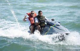 موقع أمريكي ينشر صورة لللاعب بودولسكي أثناء هروبه من المغرب نحو إسبانيا