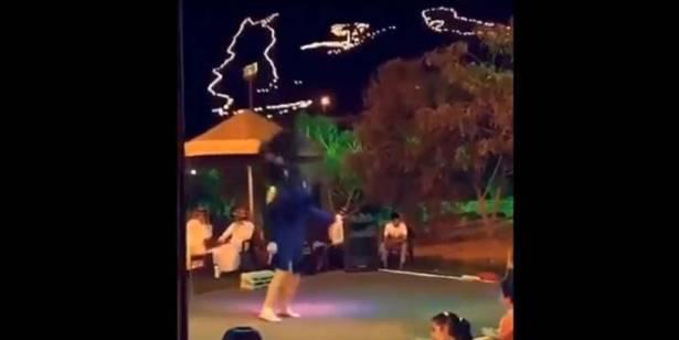 بالفيديو.. مراهقة تتسبب في أزمة بالسعودية