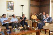 مطالب الجامعة الوطنية للصحافة والإعلام والاتصال فوق طاولة محمد الأعرج