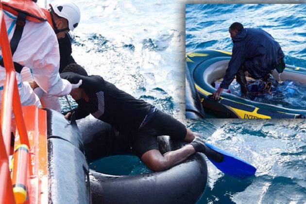 إنقاذ مغربيين من الغرق حاولا