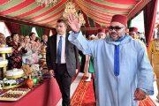 عيد الشباب.. الملك يتسلم مجموعة من المؤلفات خلال حفل استقبال بالمضيق