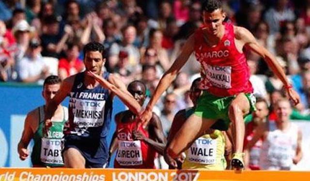 البقالي يمنح المغرب أول ميدالية في بطولة العالم بلندن