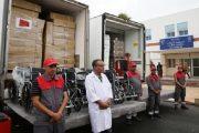 توزيع سيارات إسعاف ومستلزمات طبية على مراكز صحية بإقليم الحسيمة