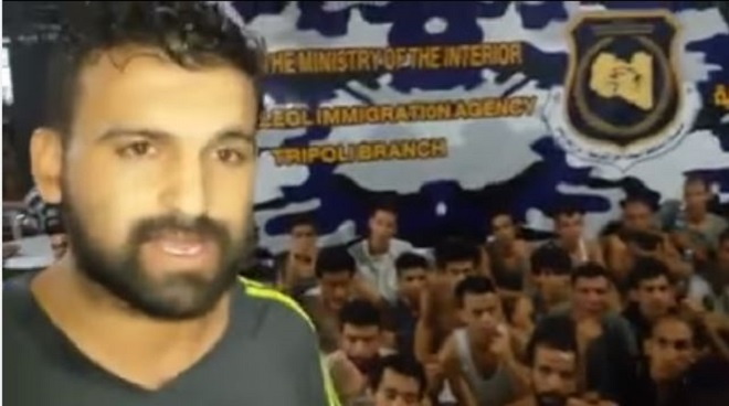 مغاربة محتجزون بليبيا يضربون عن الطعام مطالبين بإعادتهم إلى وطنهم