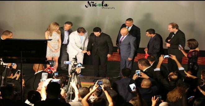 رغم التشكيك.. بسمة بوسيل فخورة ببصمة تامر حسني في هوليوود